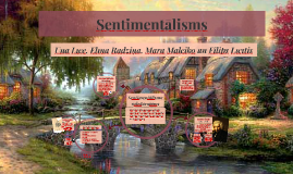 Copy of Sentimentālisms