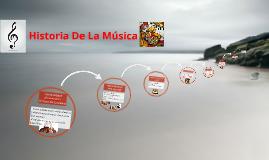 Historia De L aMúsica