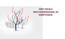 EMA: ESCALA MULTIDIMENSIONAL DE ASERTIVIDAD.