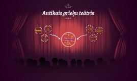 Antīkais grieķu teātris