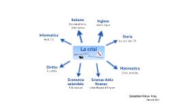 """Mappa concettuale """"La crisi"""""""
