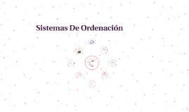 Sistemas De Organizacion