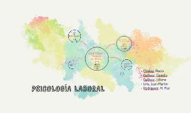 PSICOLOGÍA LABORAL