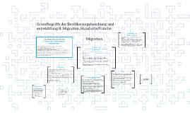 Grundbegriffe der Bevölkerungsforschung und -entwicklung II: