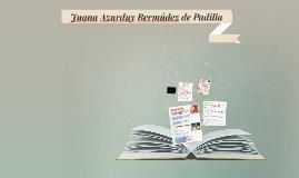 Copy of Juana Azurduy Bermúdez de Padilla