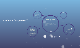 """Audience """"Awareness"""""""