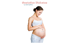 Gestation Diabetes