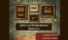 Copy of ARTE CONTEMPORANEO SIGLO XX