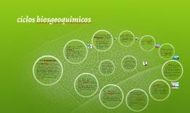 ciclos biosgeoquimicos
