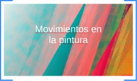 Movimientos en la pintura