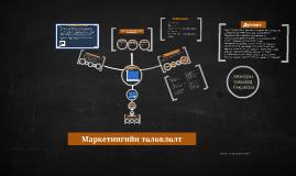 Copy of Байгууллагын стратеги ба Маркетингийн төлөвлөлт