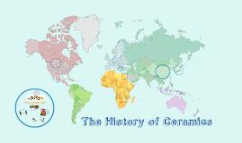 Copy of History of Ceramics