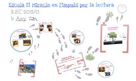 ILEC escola El MIracle 2012/13