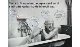 TEMA 4: Tratamiento ocupacional en el síndrome geriátrico de