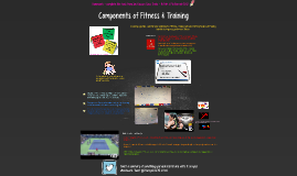 Components of Fitness & Training