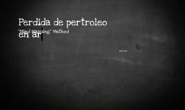 Perdida de petroleo en Argentina.