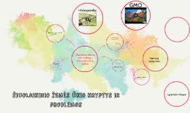 Šiuolaikinio žemės ūkio kryptys ir problemos