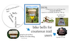Bike Bell for Trails Project