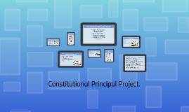 Judicial Principals Project