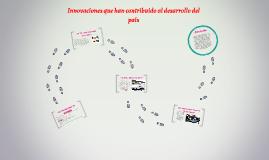 invenciones e innovaciones que han contribuido al desarrollo de colombia