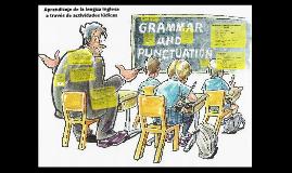 Aprendizaje de la lengua inglesa a través de actividades lúd