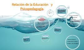 Relación entre  Psicopedgogía y Educación.
