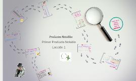 Productos Notables: Primer producto notable. Lección 1