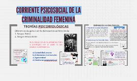 Copy of CORRIENTE PSICOSOCIAL DE LA CRIMINALIDAD FEMENINA