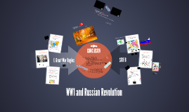 WW1 and Russian Revolution