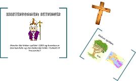 Kristendommen: retninger