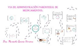 VIA DE ADMINISTRACION PARENTERAL
