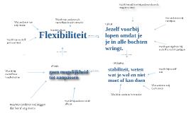 kernkwadrant flexibiliteit