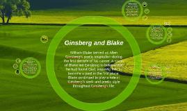 Ginsberg and Blake