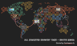 All semester country task - South Korea