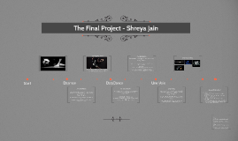The Final Project - Shreya Jain