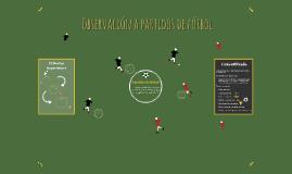 Partidos de fútbol