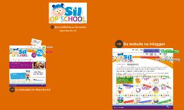 Rondleiding op de website van Sil op school