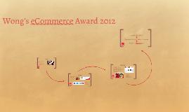 Wong: eCommerce 2012