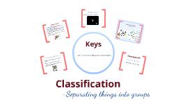 Yr 7 Science - Keys