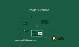 Projet Cyclope