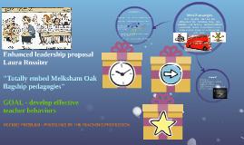 Enhanced leadership proposal