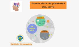Procesos básicos del pensamiento 2
