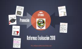 Reformas Evaluación 2018