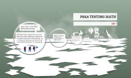 PSSA TESTING MATH Day 1