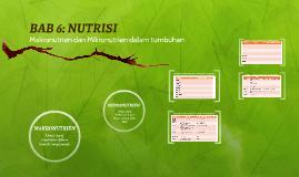 BAB 6: NUTRISI