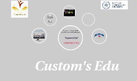 Custom's Edu