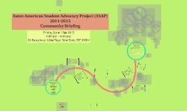 Copy of ASAP XI Community Briefing