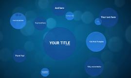 Copy of Blue Circles - Free Prezi Template