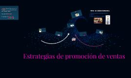 Estrategias de promoción de ventas