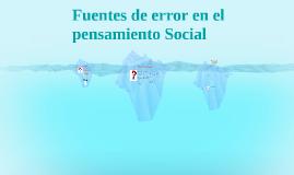 Trabajo psicología Social